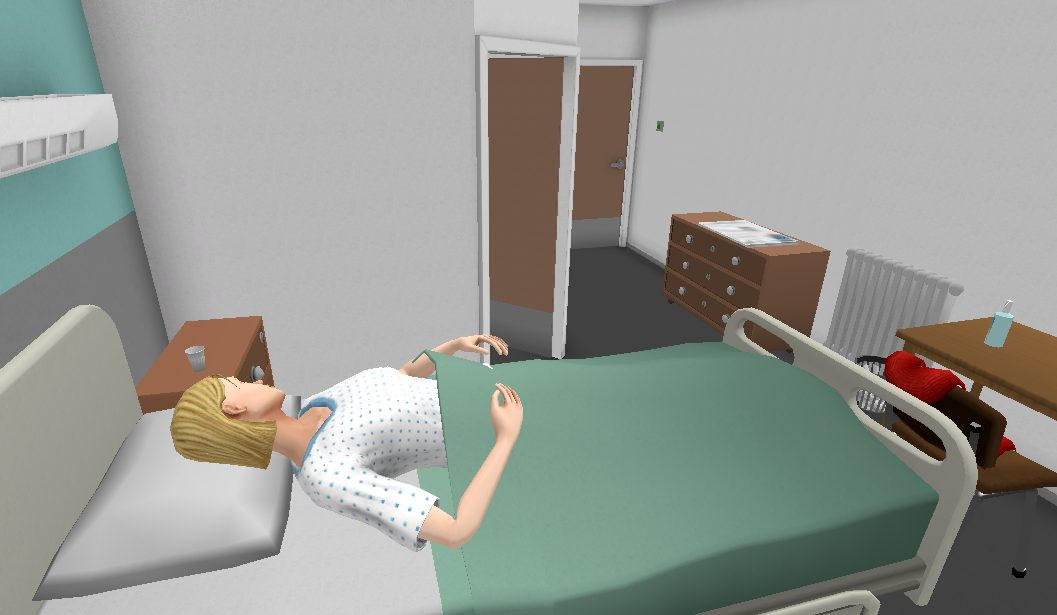 scénario psychiatrie réalité virtuelle