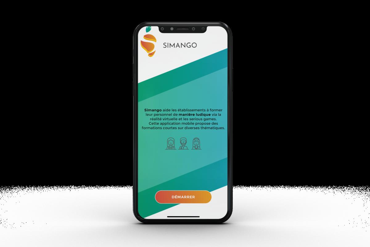 application mobile simango